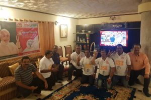 NRIs jubilant in Nigeria, celebrate BJP win with drums and sweets