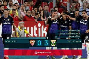 La Liga: Leganes dent Sevilla's Champions League dream