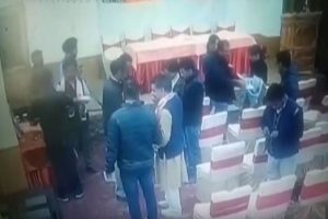 Video shows BJP 'bribing' Leh journalists; poll officer says charges 'prima facie correct'
