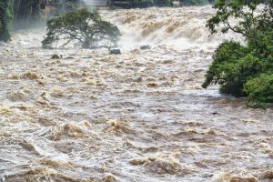 Flood threat in Birdi block