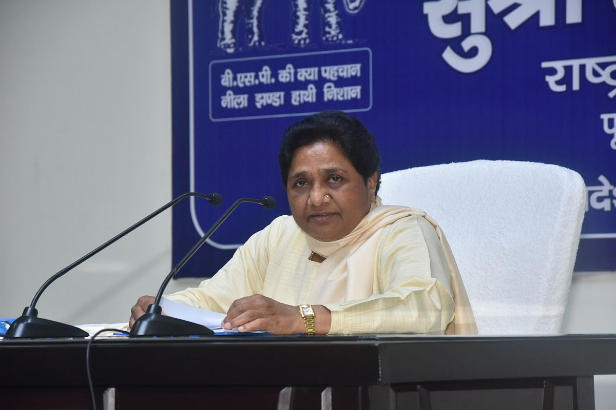 Day after exit polls, BSP says Mayawati will not meet Sonia, Rahul Gandhi in Delhi today