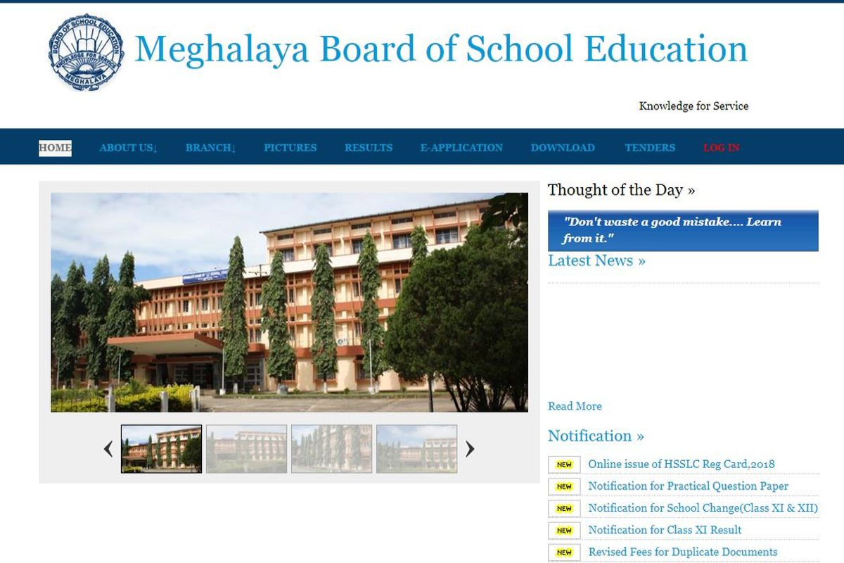 MBOSE HSSLC Result 2019: Meghalaya Board of Secondary Education likely to declare Class 12 Arts result soon on mbose.in