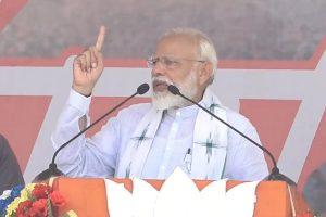 Speed-breaker Didi playing politics on Cyclone Fani, refused to talk to me: PM Modi in Bengal
