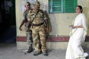 Mamata Banerjee holds BJP, CRPF responsible for poll violence in Bengal