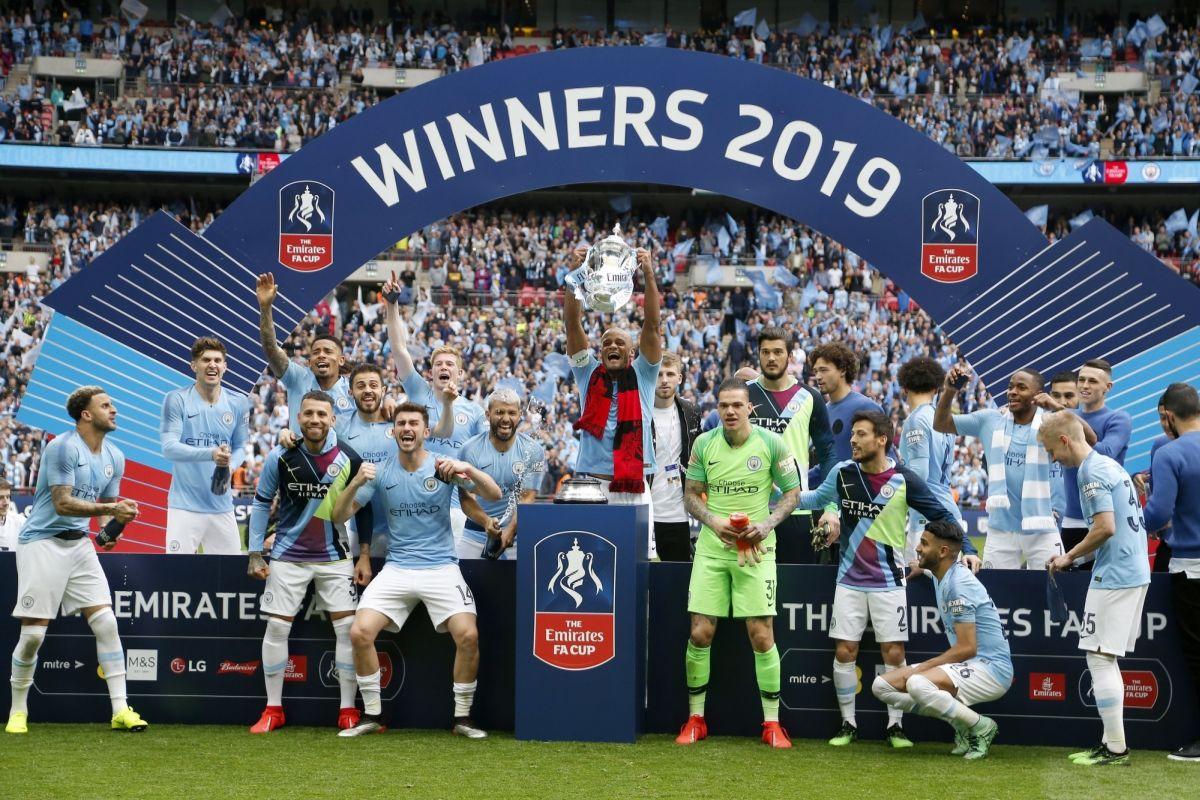 FA Cup: Manchester City thrash Watford 6-0 to complete historic treble