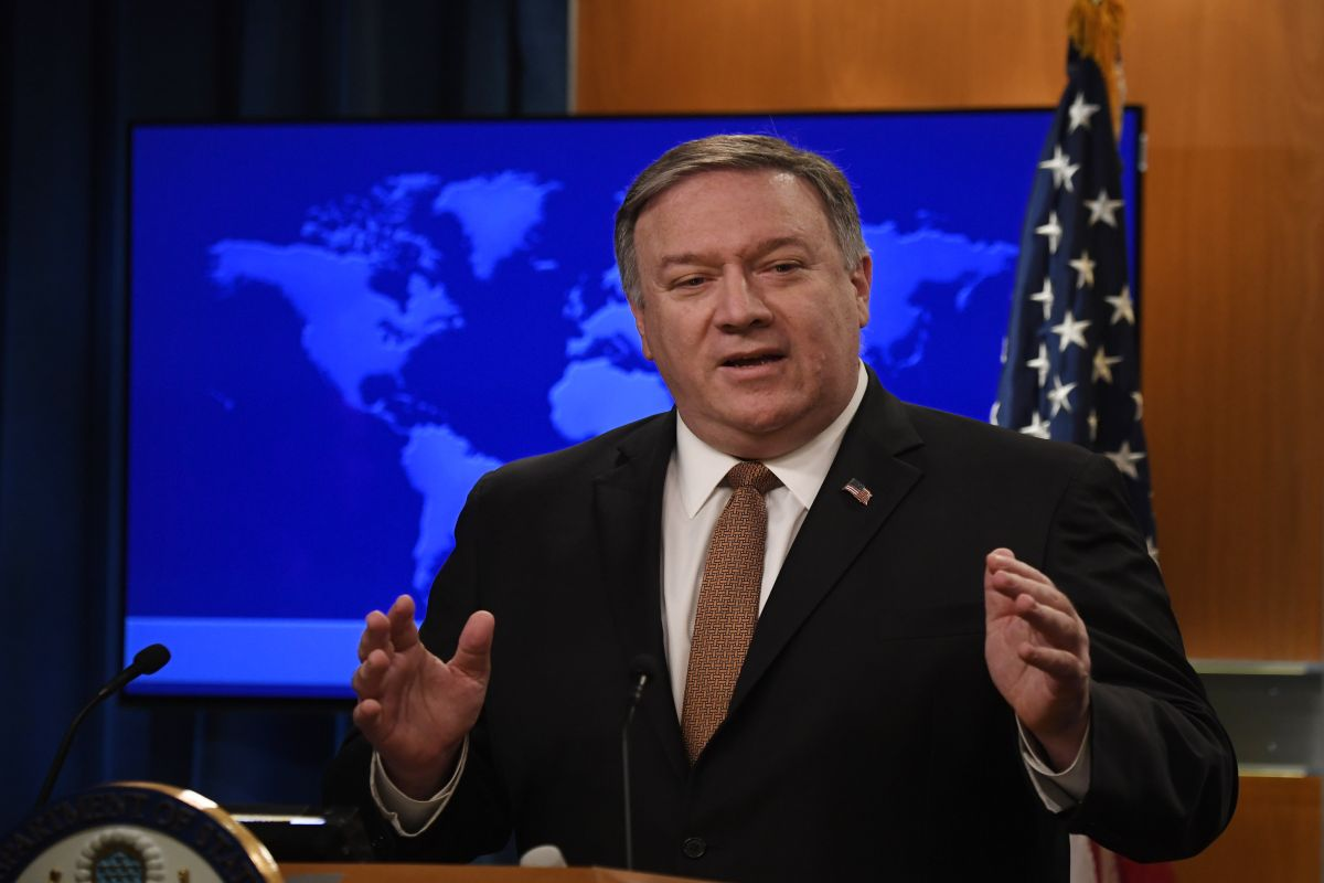 U.S. Secretary of State, Mike Pompeo