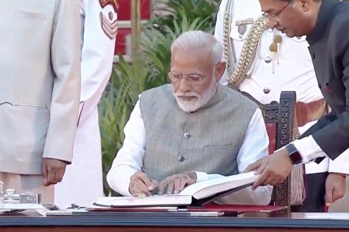 PM Narendra Modi, Oath of office, Amit Shah, Rajnath Singh, Nirmala Sitharaman, Narendra Modi Oath