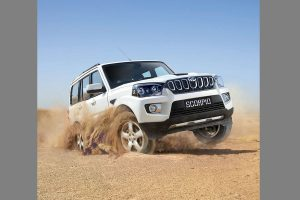 New Mahindra Scorpio Spotted Again, Looks Bigger Than Before