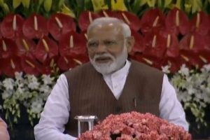 PM Narendra Modi calls for removing fear among minorities