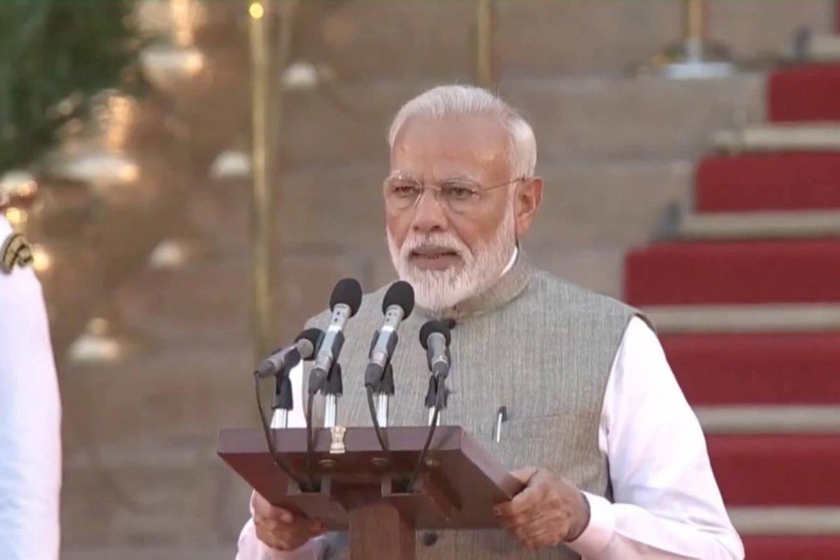 PM Modi, Narendra Modi Oath, Amit Shah, Oath Ceremony, Rajnath Singh, Rashtrapati Bhavan