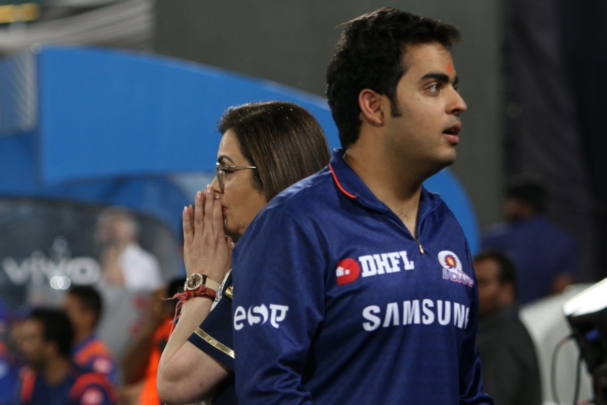 Mumbai Indians, CSK, Mother's Day, Nita Ambani, Akash Ambani, Indian Premier League 2019