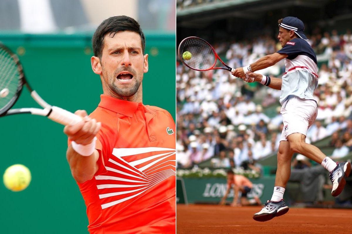 Novak Djokovic, Diego Schwartzman, Italian Open