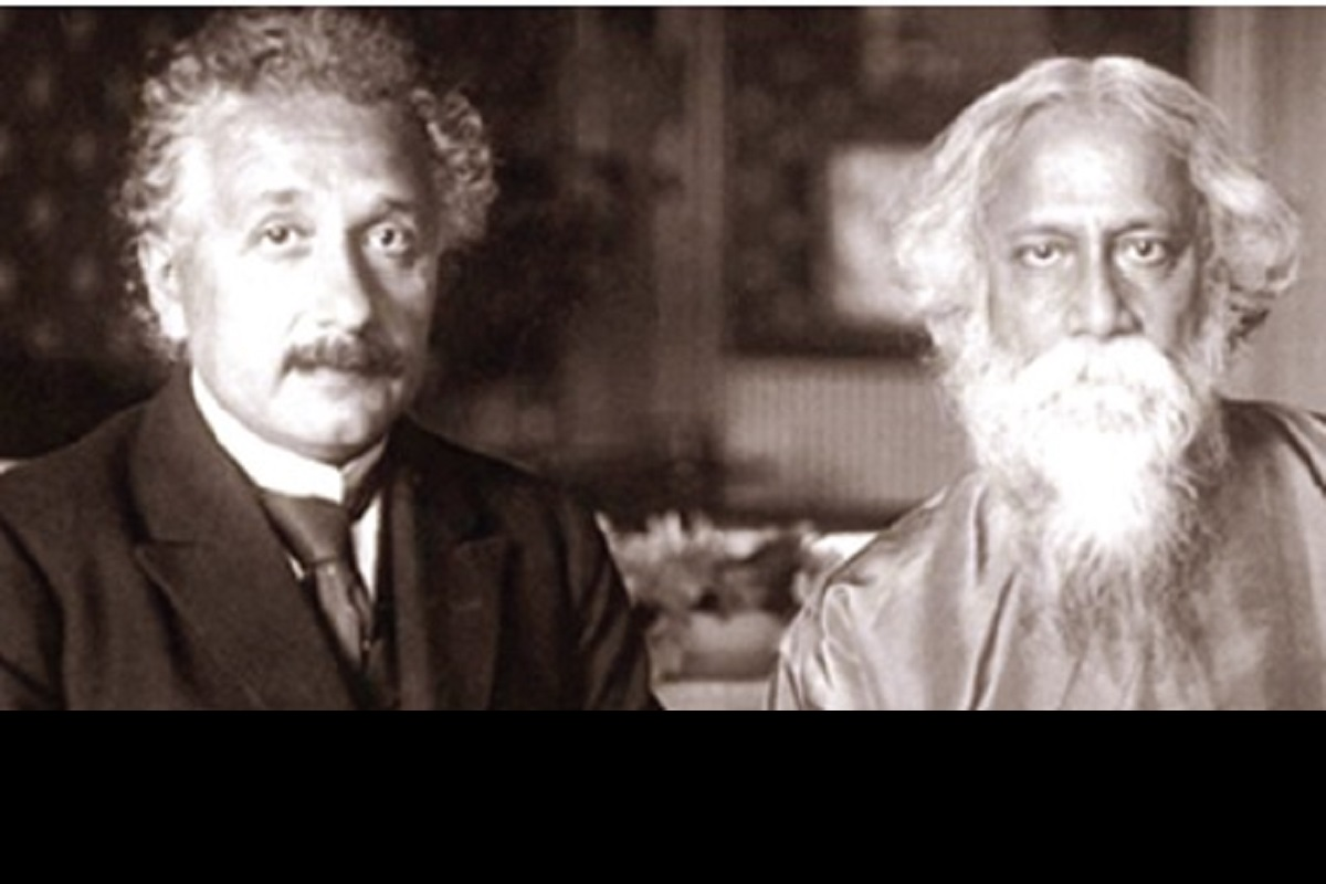 Beauty of Science~I, Albert Einstein, Rabindranath Tagore, Confucius, Big Bang
