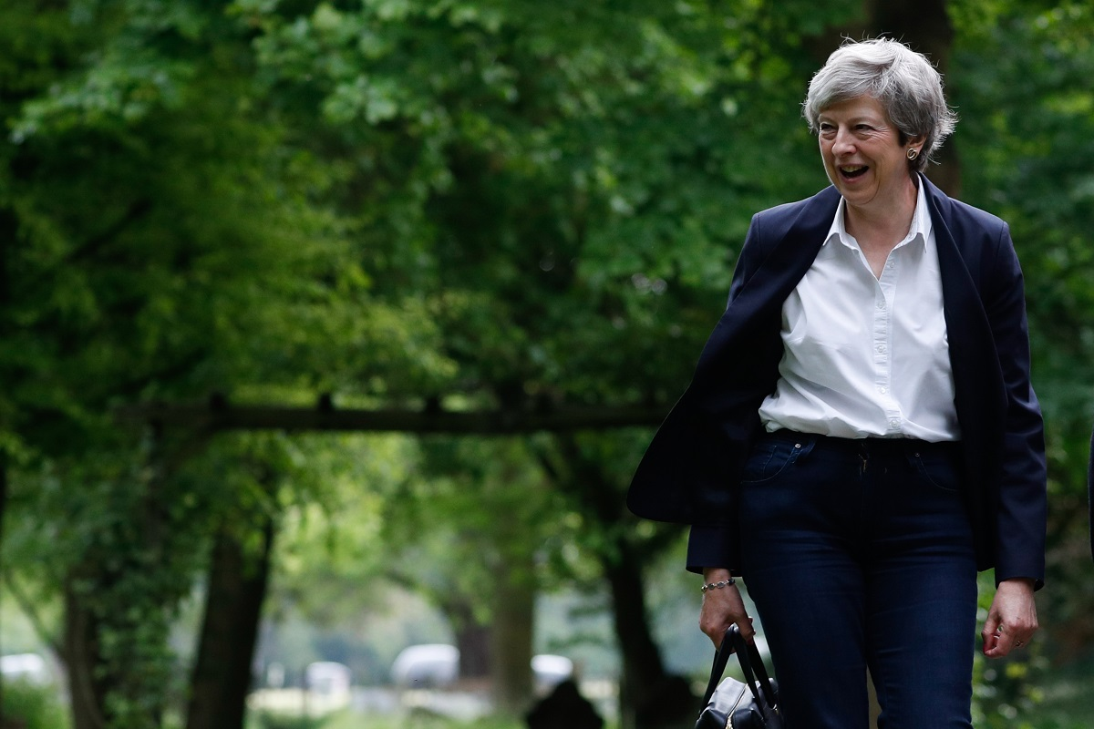 Mrs May in Tears, British, Theresa May, Brexit, European Union