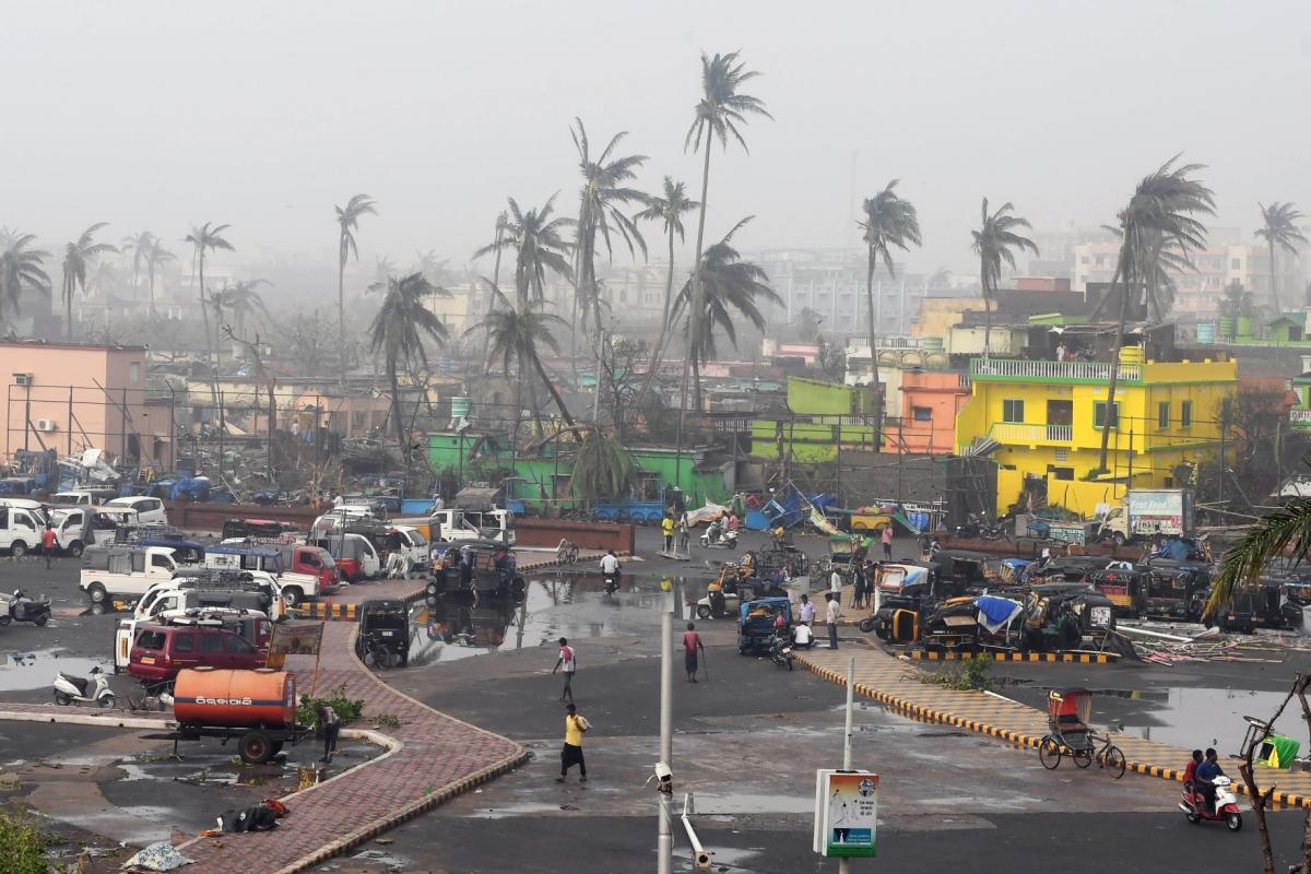 Rs 524 cr damage caused by Cyclone Fani in Odisha