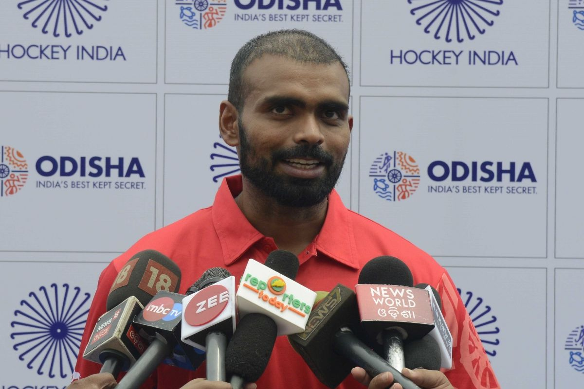 P R Sreejesh, Hockey India