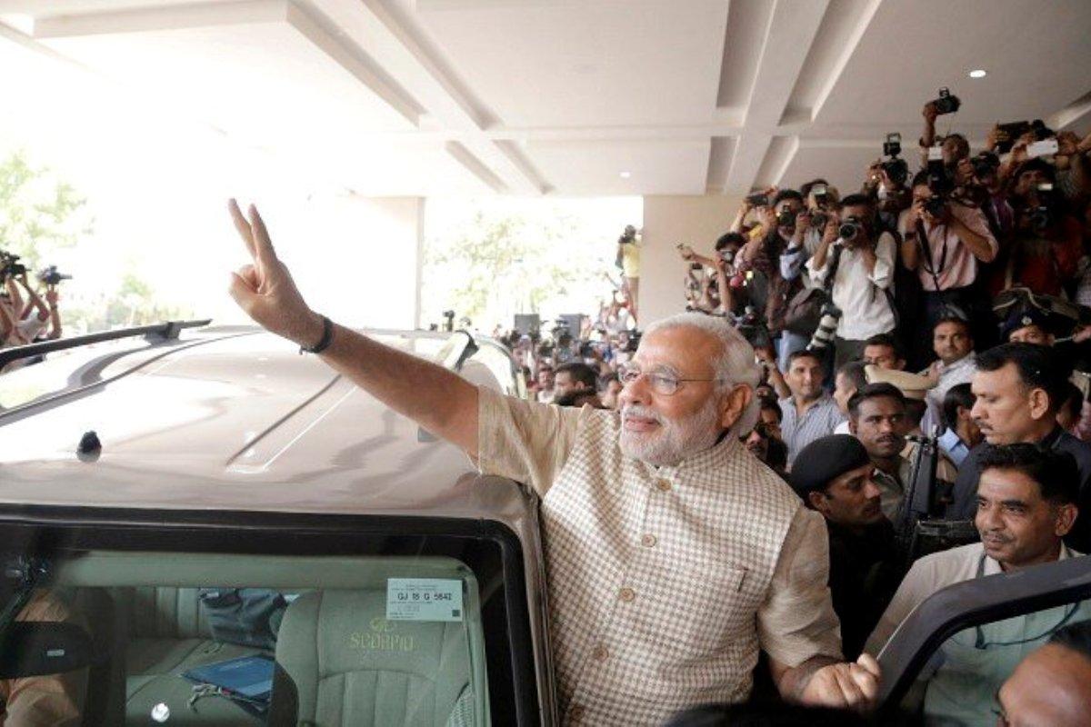 Five years, Modi govt, PM Modi 2014 photo, Narendra Modi