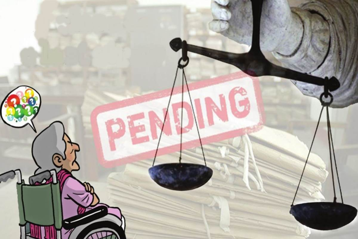 Pending cases: Very close to the last straw
