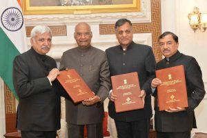 President Ram Nath Kovind dissolves 16th Lok Sabha