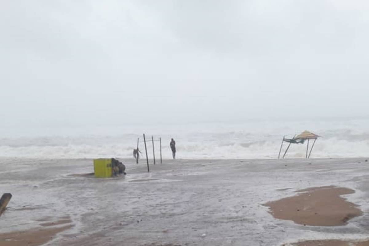 A total of 79 flights were cancelled at different airports in the northeast region due to bad weather, triggered by cyclonic storm Fani, an Airport Authority of India official said here on Saturday.