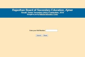 RBSE 12th Arts result 2019: Rajasthan Board Class 12 Arts results declared on rajresults.nic.in