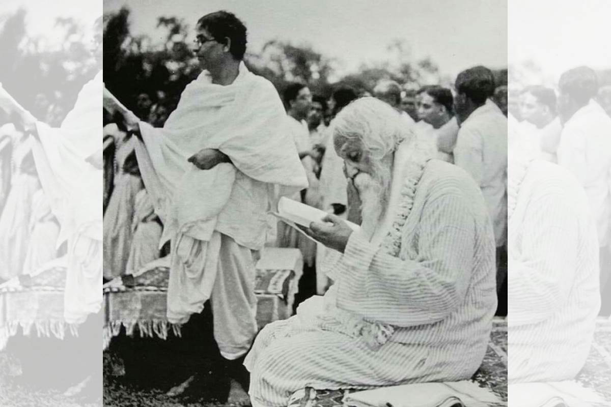 Rabindranath Tagore death wish, Rabindranath Tagore, Rabindranath Tagore autographs, Rathindranath, Satyajit Ray, Mrityu-PratyashiRabindranath, Rabindra Jayanti 2019,Santiniketan