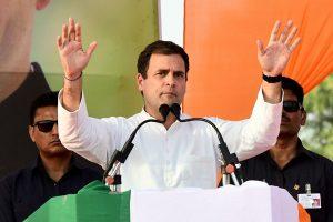 Where was Rahul Gandhi when Amethi was voting?