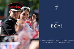 Royal baby of Meghan Markle and Prince Harry is a boy