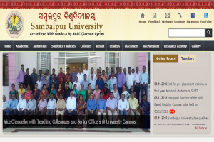 Sambalpur University new examination schedule released