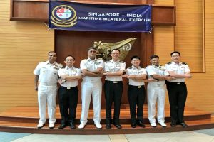 Naval Exercise SIMBEX-2019 under way in Singapore
