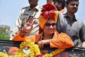 Pragya Thakur should apologise publicly, says BJP; saffron party real heir to Godse: Congress