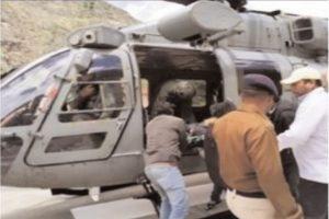 Trekker dies, 6 rescued from Sangla valley