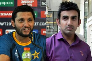 You need treatment, come to Pakistan: Shahid Afridi to Gautam Gambhir