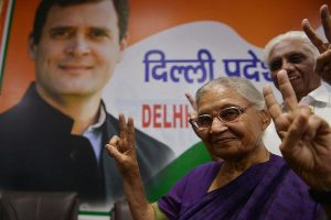We're fighting AAP as much as BJP: Congress leader Sheila Dikshit