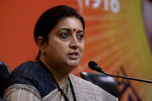 Smriti Irani alleges booth capture in Amethi, says Congress forcibly stealing votes