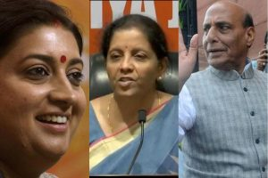 Rajnath Singh, Smriti Irani, Nirmala Sitharaman among top names