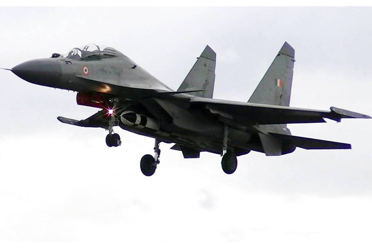Indian Air Force, IAF, BrahMos air version missile, BrahMos, Su-30 Mki, fighter aircraft