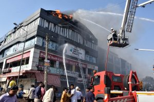 Surat coaching centre fire death toll rises to 20; two arrested, coaching centre owner booked