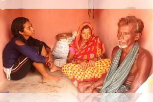 Fani razes house, Odisha family makes Swachh Bharat toilet his home