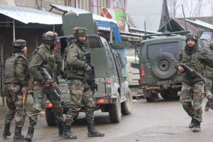 Six terrorists killed in two encounters in Jammu-Kashmir
