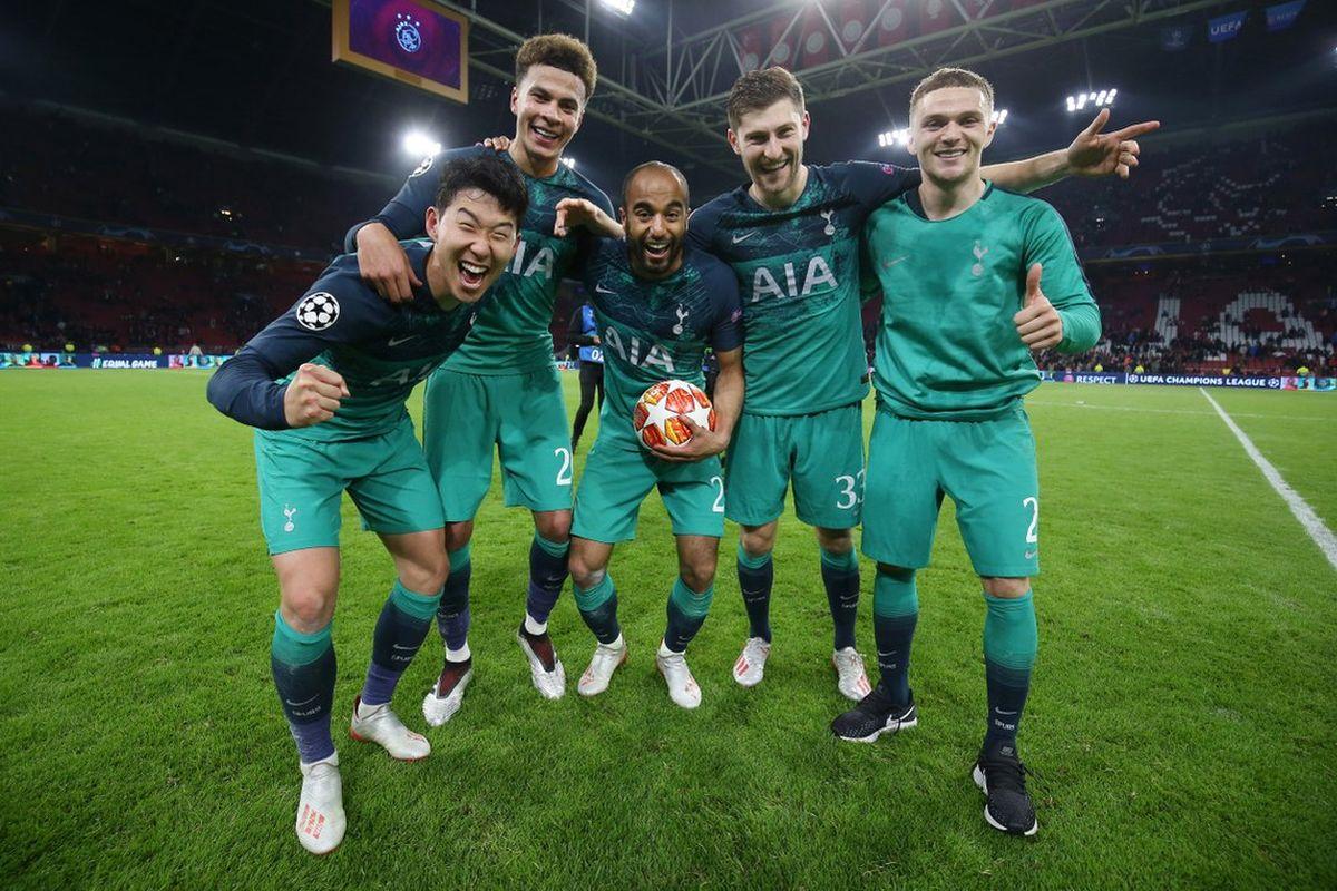 Lucas Moura, Tottenham Hotspur, Champions League, Ajax