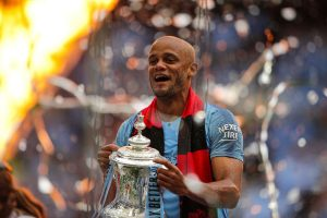 Vincent Kompany parts ways with Manchester City after 11 yrs