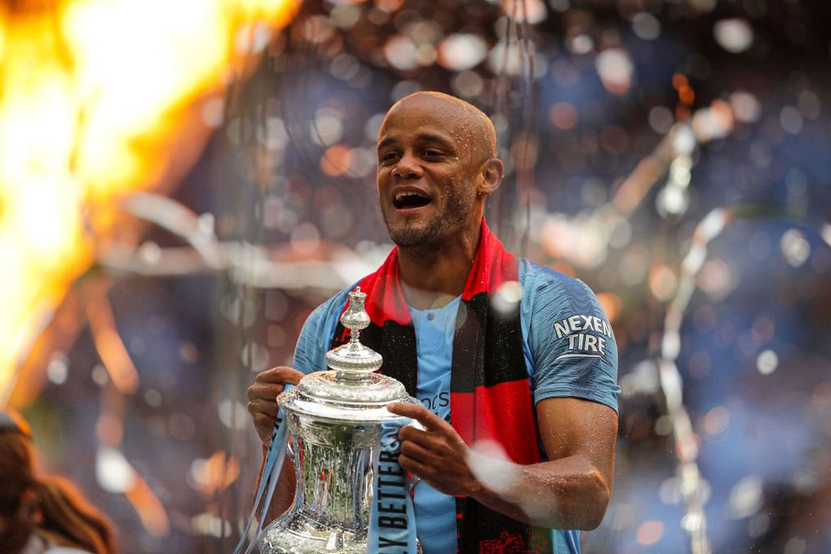 Manchester City, Vincent Kompany, Premier League, FA Cup