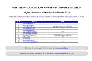 WB Board HS results: West Bengal class 12 results 2019 announced at wbchse.nic.in