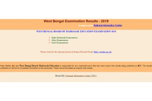 West Bengal Madrasah Result 2019 direct link: Check West Bengal Madrasah result for High Madrasah, Alim and Fazil Exam on wbresults.nic.in