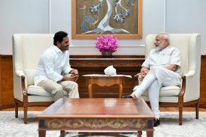 YSRCP chief YS Jagan Mohan Reddy meets PM Modi, Amit Shah
