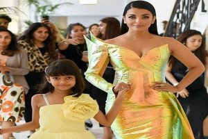 Aishwarya Rai Bachchan turns into golden mermaid at Cannes