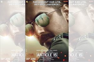Ayushmann Khurrana reveals who inspired him to play cop in Article 15
