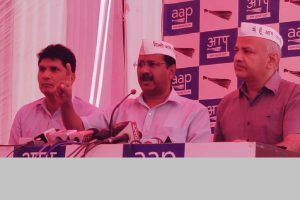Attack part of conspiracy against me, alleges Arvind Kejriwal