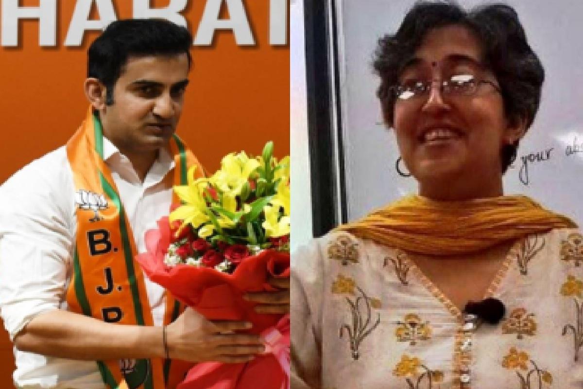 Delhi, Atishi, Tis Hazari Court, Gautam Gambhir, Aam Aadmi Party, AAP